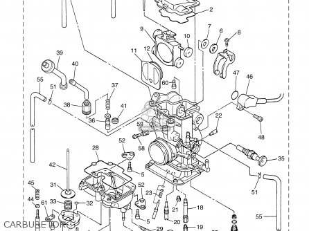 yamaha yz450f 2003  3  50states usa parts lists and schematics yamaha throttle control diagram