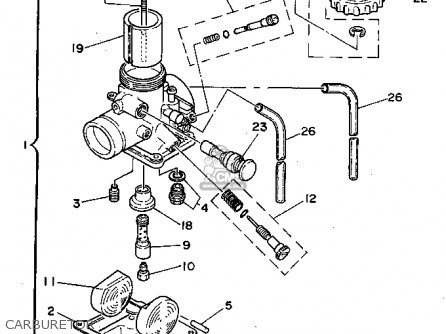 Yamaha YZ801 1994  R  USA parts lists and schematics