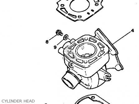 Yamaha Yz80 1985 F Usa Parts Lists And Schematics