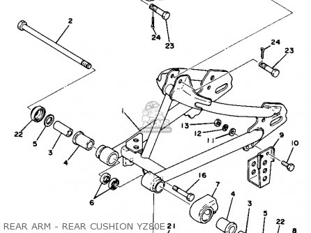 1995 Yamaha Timberwolf Wiring Diagram