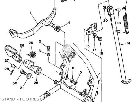 Yamaha Atv Parts Diagram