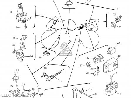 Hayabusa Parts Wiring Diagram furthermore Yamaha Enticer Wiring Diagram also Fz6r Wiring Diagram together with Yamaha Big Bear Electrical Diagram further 2000 Suzuki Tl1000r Wiring Diagram. on wiring diagram yamaha r1 2000