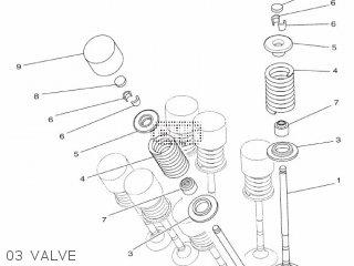 Yamaha Yzf-r3a 2015 B023 Europe 1pb02-300e1 03 Valve