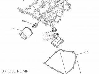 Yamaha Yzf-r3a 2015 B023 Europe 1pb02-300e1 07 Oil Pump