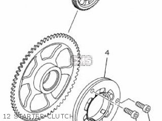 Yamaha Yzf-r3a 2015 B023 Europe 1pb02-300e1 12 Starter Clutch