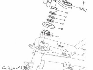 Yamaha Yzf-r3a 2015 B023 Europe 1pb02-300e1 21 Steering