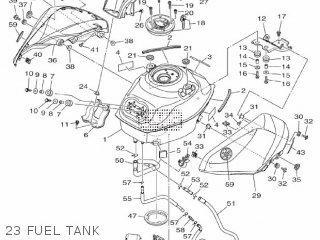 Yamaha Yzf-r3a 2015 B023 Europe 1pb02-300e1 23 Fuel Tank