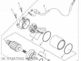 Yamaha Yzf-r3a 2015 B023 Europe 1pb02-300e1 36 Starting Motor