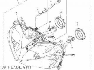 Yamaha Yzf-r3a 2015 B023 Europe 1pb02-300e1 39 Headlight