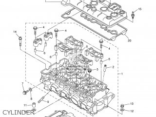 yamaha yzf r6 2006 2c01 europe 1e2c0 332g1 parts lists and schematics Yamaha R250 yamaha yzf r6 2006 2c01 europe 1e2c0 332g1 cylinder
