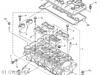 yamaha yzf-r6 2011 13sv europe 1k13s-300e1 parts lists and schematics  cmsnl.com