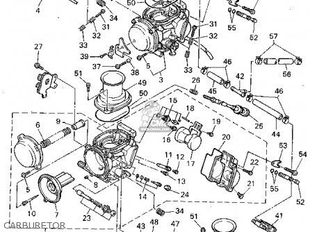 Yamaha Yzf600r Carburetor