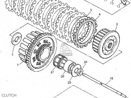 yamaha grizzly 450 parts diagram yamaha warrior parts
