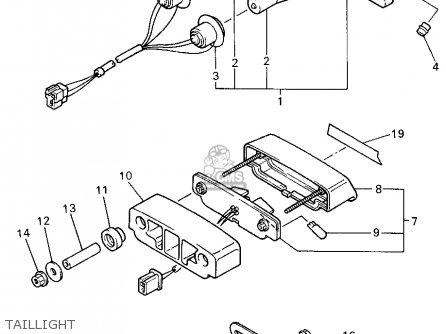 yamaha yzf750r 1994 r usa parts lists and schematics rh cmsnl com yamaha yzf 750 r wiring diagram