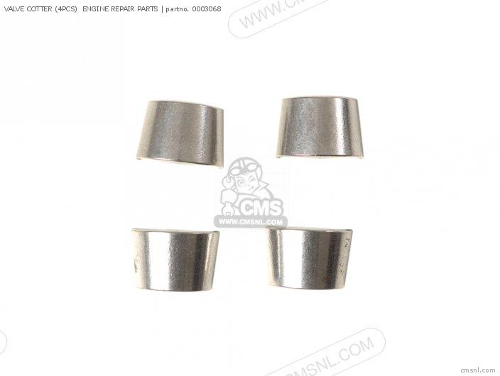 (00-01-0025) VALVE COTTER (4PCS) ENGINE REPAIR PARTS