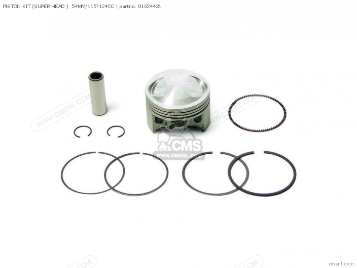 01 02 4432 piston kit super head 54mm