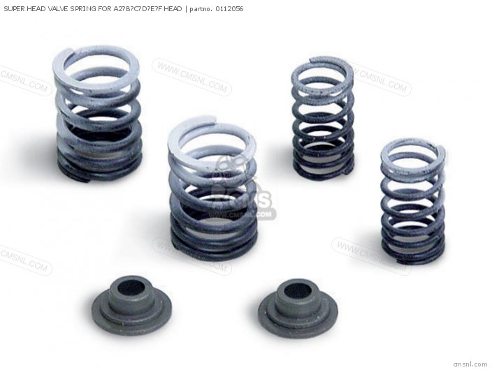 01-12-0111 SUPER HEAD VALVE SPRING FOR A2BCDEF HEAD