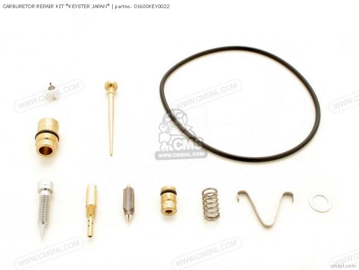 (01600-KEY-0022F) CARBURETOR REPAIR KIT *KEYSTER JAPAN*
