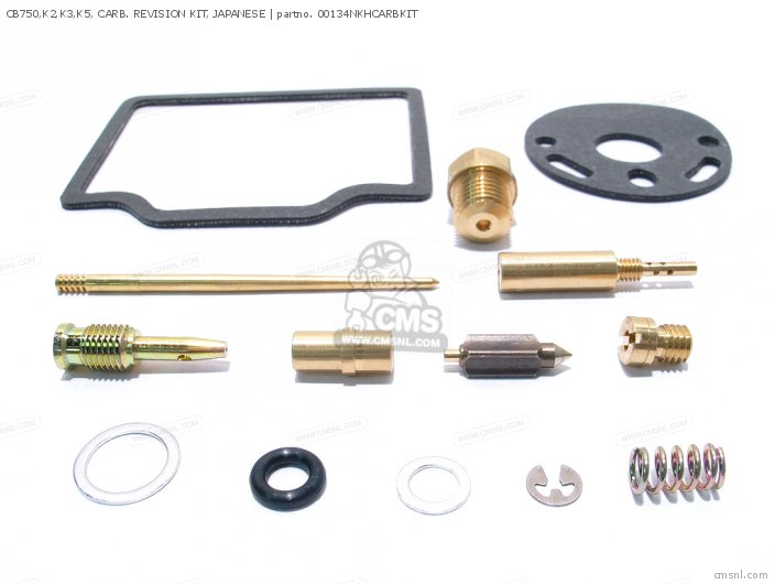 01600-KEY-0134N CB750 K2 K3 K5  CARB  REVISION KIT  JAPANESE