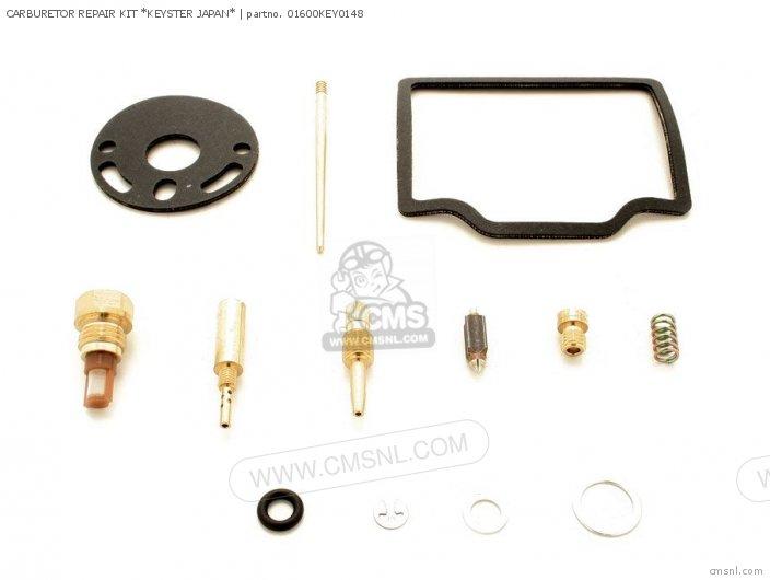 (01600-KEY-0148N) CARBURETOR REPAIR KIT *KEYSTER JAPAN*