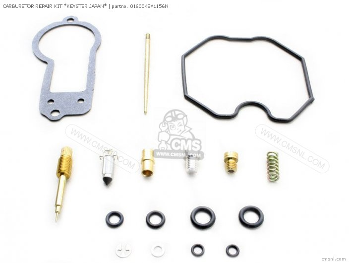(01600-KEY-1156NFR) CARBURETOR REPAIR KIT *KEYSTER JAPAN*