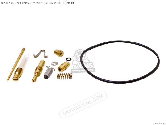 (01600-KEY-1166N) XR100 1987, 1988 CARB. REPAIR KIT