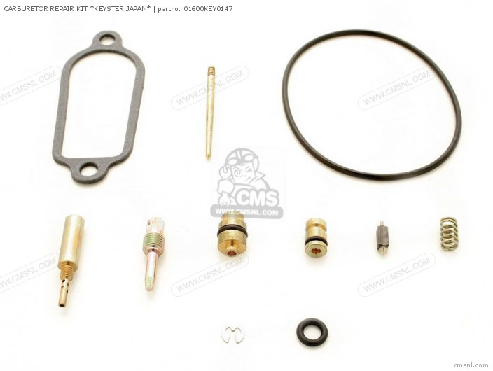 01600-KEY-1213N CARBURETOR REPAIR KIT  KEYSTER JAPAN