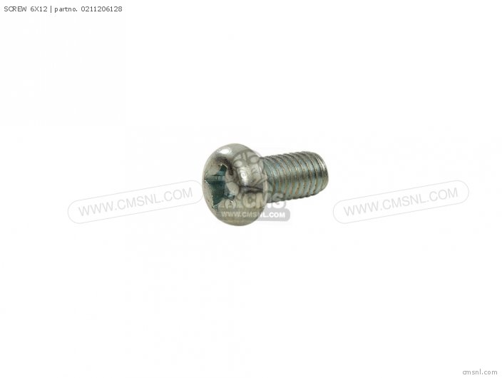 Gs1100e 1980 t Usa e03 02112-06127 Screw 6x12
