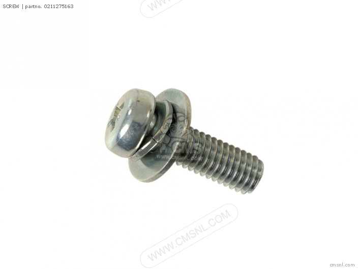 Gsx600 1989 fuk 02112-7516a Screw  Neutral Sw
