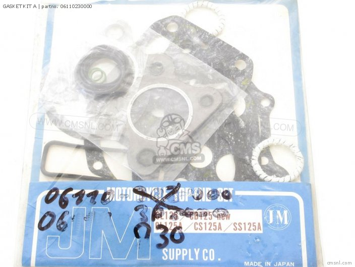 Cd125 06110-230-t30 Gasket Kit A