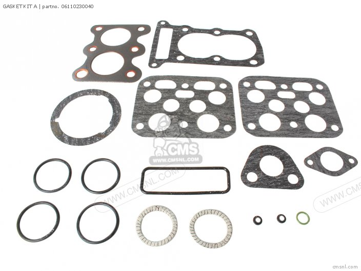 Cd125a 06110-230-t40 Gasket Kit A