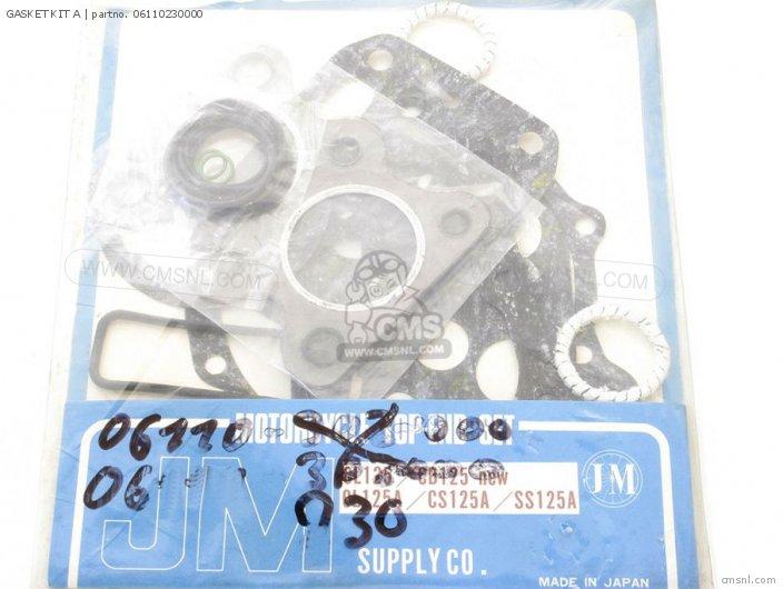 Cd125 06110230030 Gasket Kit A