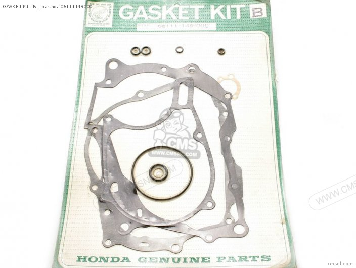 Xl80s 1981 Usa 06111-149-s00 Gasket Kit B