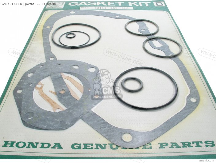 Ca77 1960 1961 1962 1963 1964i 1964ii 1964iii Dream Usa 142592 06111259s01 Gasket Kit B