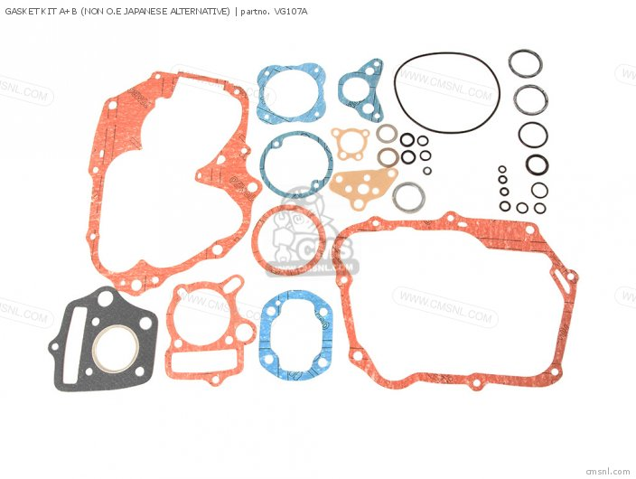 06112-041-405P GASKET KIT A+B NON O E JAPANESE ALTERNATIVE