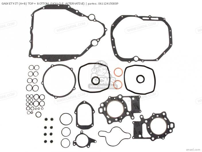 (06112-415-020P) GASKET KIT (A+B) TOP + BOTTOM  (NON O.E. ALTERN