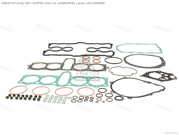 (06112-438-000P) GASKET KIT (A+B) TOP + BOTTOM  (NON O.E. ALTERN