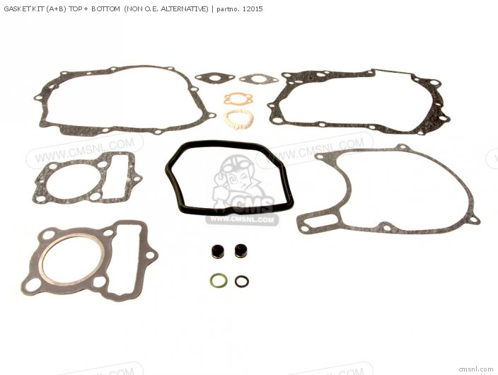 (06112-GN1-000P) GASKET KIT (A+B) TOP + BOTTOM  (NON O.E. ALTERN