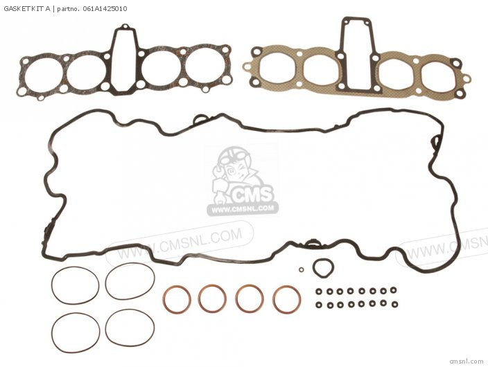 Cb900c 900 Custom 1981 Usa 061a1-438-s03 Gasket Kit A