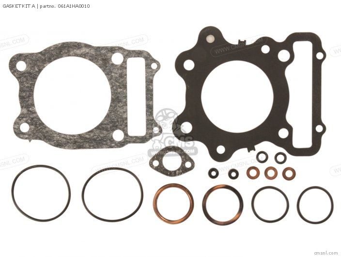 Atc250sx 1985 Usa 061a1-ha0-t10 Gasket Kit A