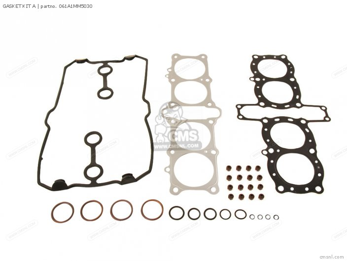 Cbr1000f 1000 Hurricane 1988 Usa 061a1mm5s03 Gasket Kit A