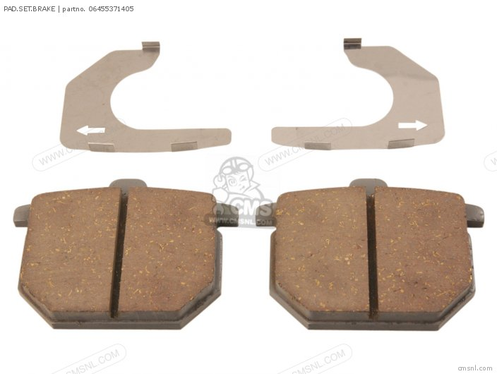 Gl1000 Gold Wing 1978 Usa 06455-410-406 Pad set brake