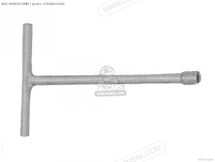 (076060010101) BOX WRENCH 8MM