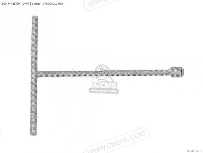 (076060010301) BOX WRENCH 10MM