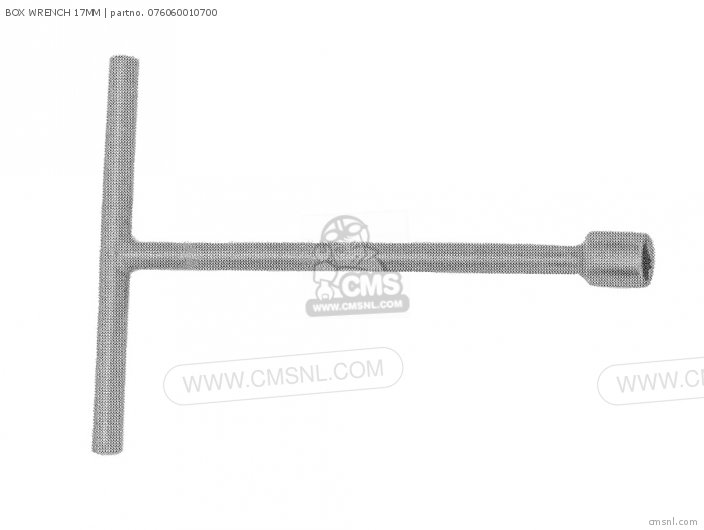 (076060010701) BOX WRENCH 17MM