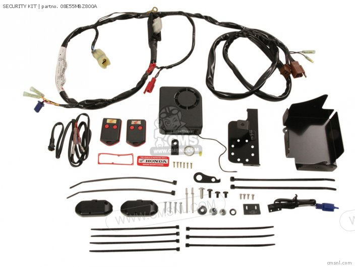 (08E55MBZ802A) SECURITY KIT