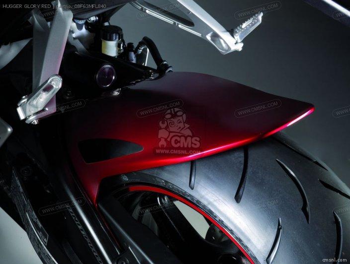 Cbr1000rr Fireblade 08f63mfl840a Hugger Glory Red