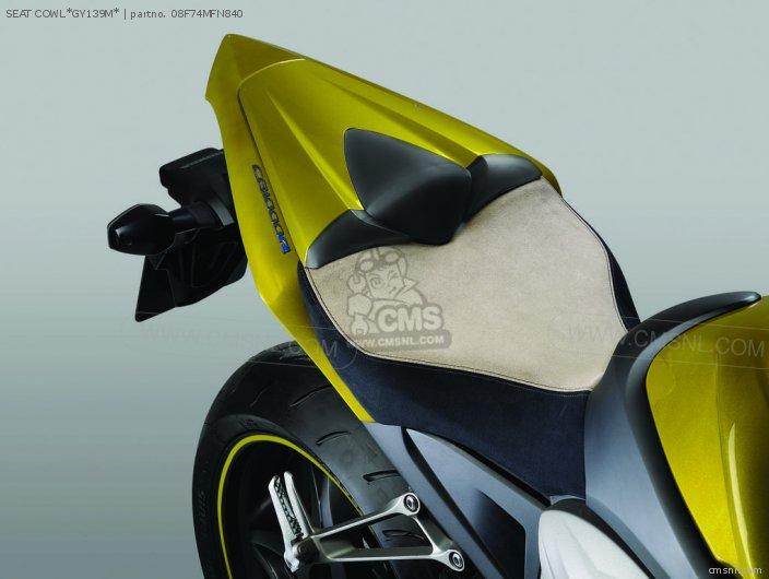 Cb1000r 08f71-mfn-d60zg Seat Cowl gy139m
