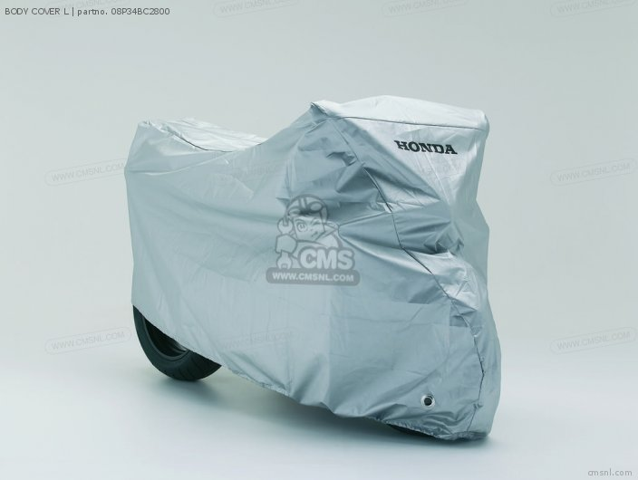 Cbr600rr 08p34-bc2-801 Body Cover L