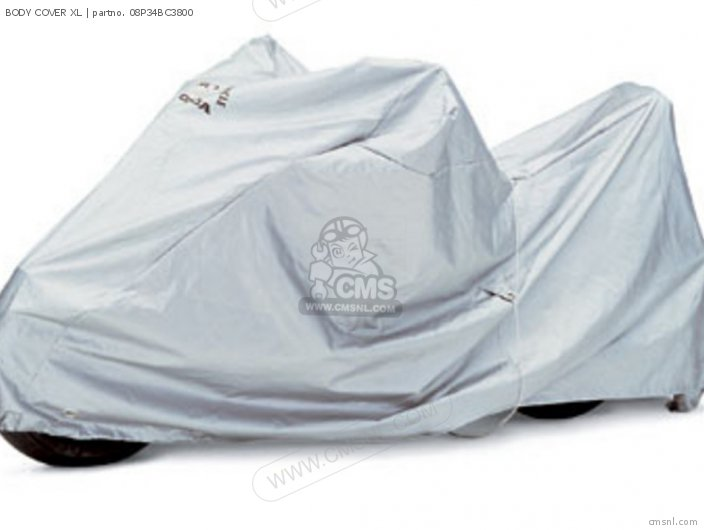 Cb1300 Super Four 2005 England   Mkh 3e 08p34-bc3-801 Body Cover Xl